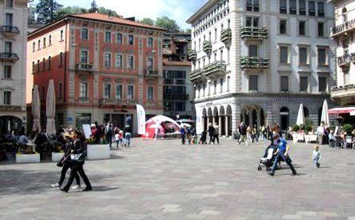 Appartamenti in affitto prospicenti piazza della Riforma a Lugano