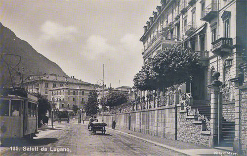 Another scene of Lugano from the early 1900s