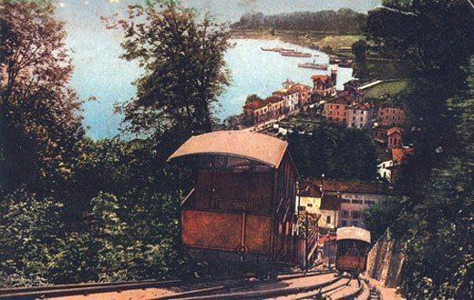 Andare sulla funicolare del Monte Brè direttamente dal nostro appartamento in affitto a Lugano