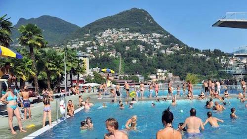 I nostri appartamenti in affitto del residence sono a pochi minuti dalle piscine del Lido di Lugano