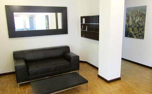 Reception del residence La Residenza, per affitto camere, monolocali ed appartamenti a Lugano