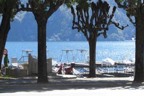 Il lungolago è a due passi dai nostri appartamenti in affitto a Lugano