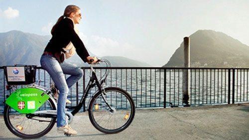 Andare in bici a Lugano partendo dal nostro appartamento in affitto