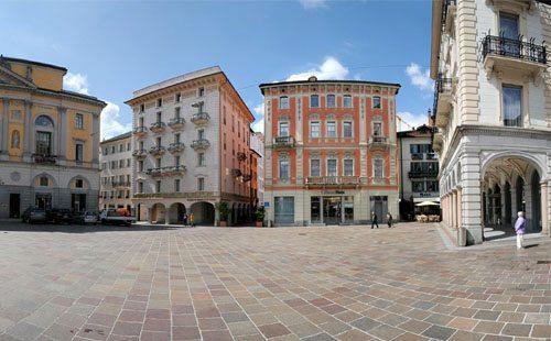 Casa vicino piazza della riforma a Lugano
